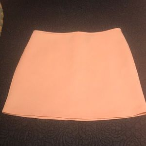 Ice pink mini skirt